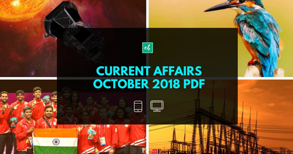 October Month Current Affairs 2015 Pdf