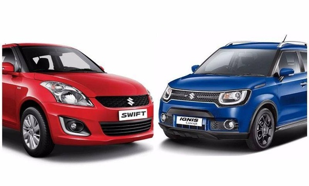 Which is a better car - the Swift or the Ignis? - Quora