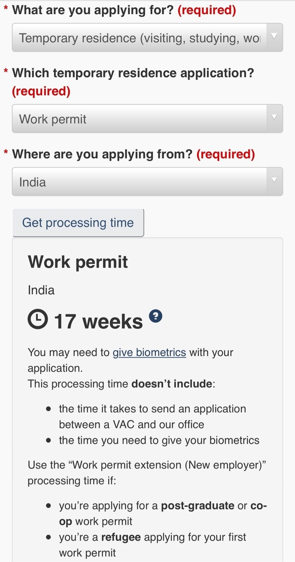 How Long Does It Take To Get A Canadian Work Permit Quora