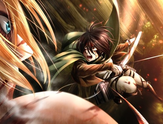 In Attack on Titan when did Levi injure his foot? - Quora
