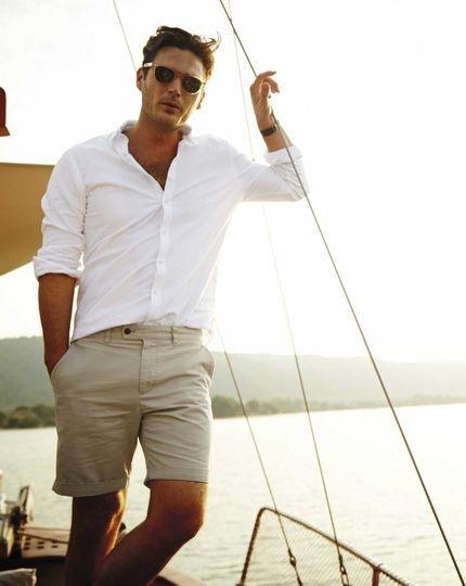 What are the best summer outfits for men quora for Mens khaki shirt outfit