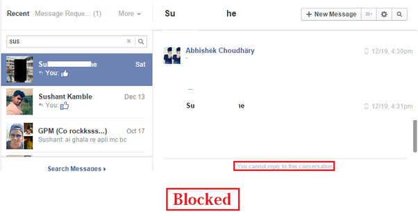 Facebook account deactivated or am i blocked