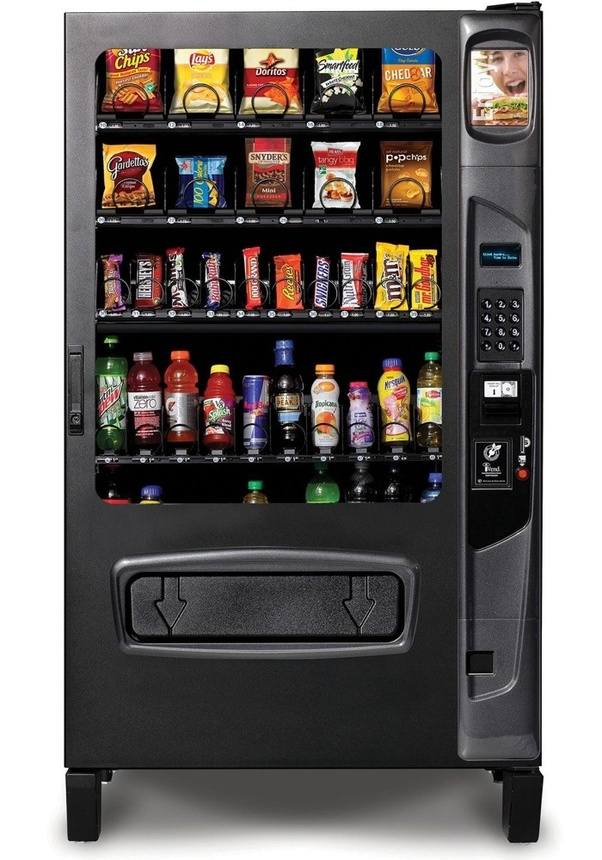 How does a vending machine work? - Quora