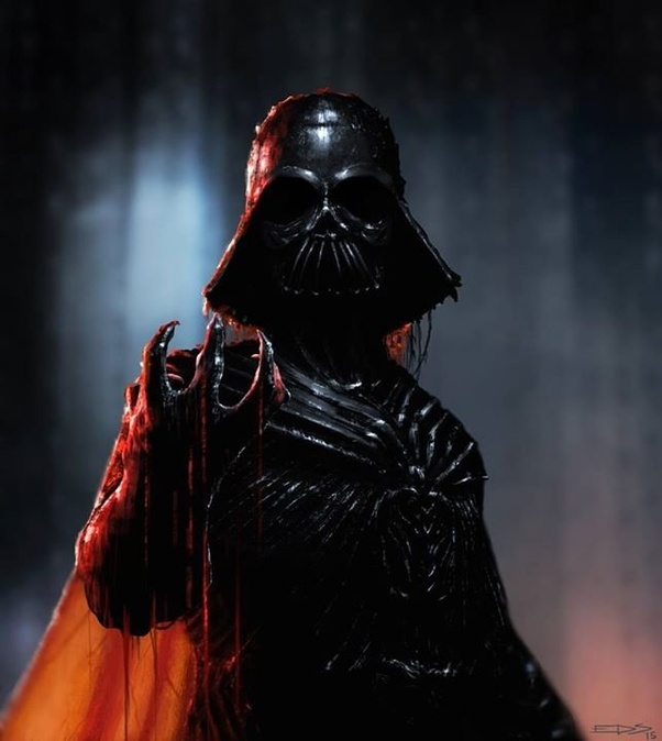 If Darth Vader Was Given A State Of The Art Suit What Would He Look Like Quora