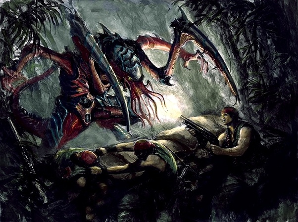 Is there any hope for stopping the Tyranids?  - Quora