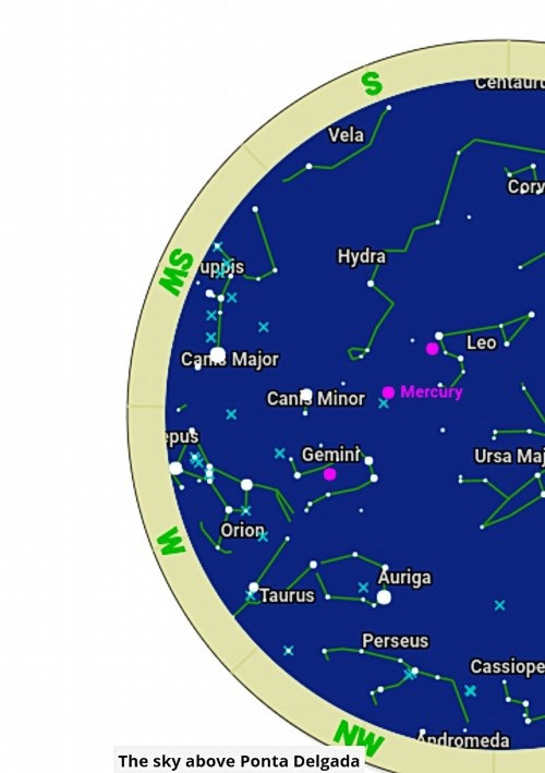 What Is A Star Map.What Is The Star That Is Rising Before Sunrise In The Early July