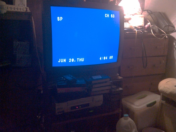 Hook up vcr to tv