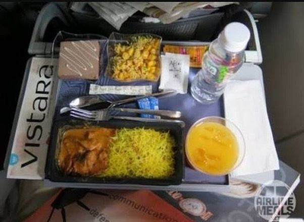 Which Airlines In India Provide Free Meals Domestic