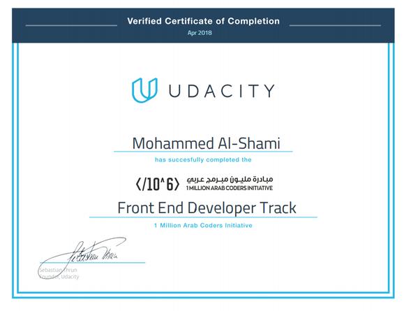 هل تنصح بالانضمام لمبادرة مليون مبرمج عربي في Udacity Quora