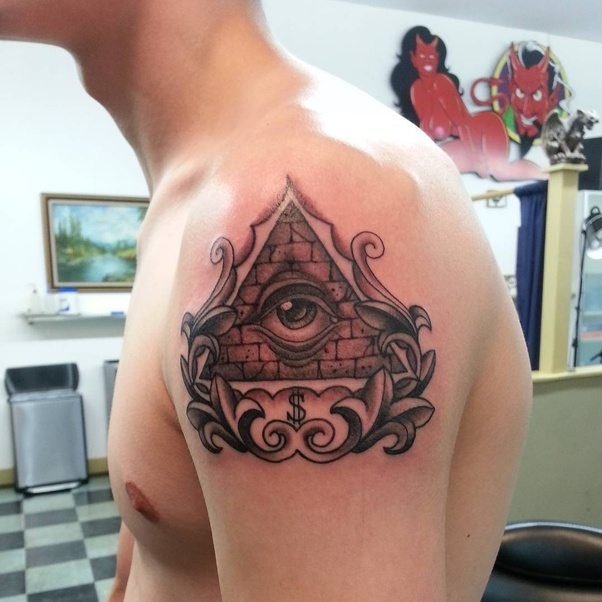 what are the best all seeing eye tattoo designs quora. Black Bedroom Furniture Sets. Home Design Ideas