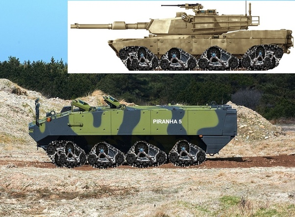 Is a multi-tracked military vehicle (tank, APC) better than a single
