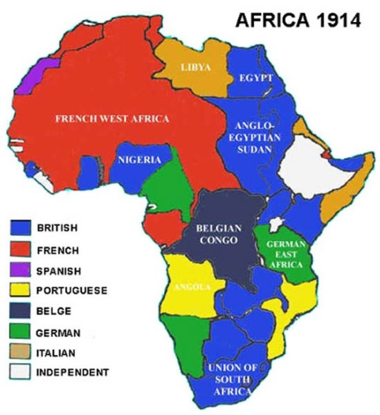 Did Europeans Purposely Divide Africans To Cause As Many Ethnic