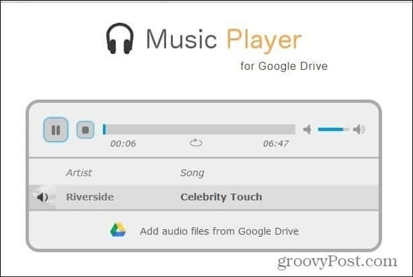 Is there an android mobile app that will play music from