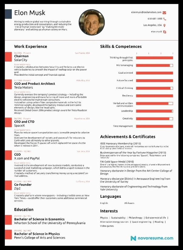 what should a fresher s resume cv look like quora