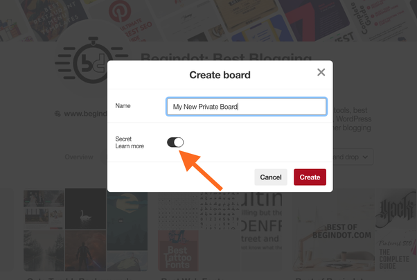 How To Hide A Board On Pinterest From Not Only The Public But My Followers As Well Quora