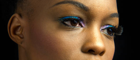 The next thing you need to consider is the one rule of makeup that will always guide you: Light colors bring out, make larger and highlight. Dark colors ...