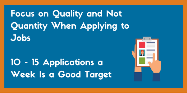 If you are filling out job applications, should you set a limit to ...