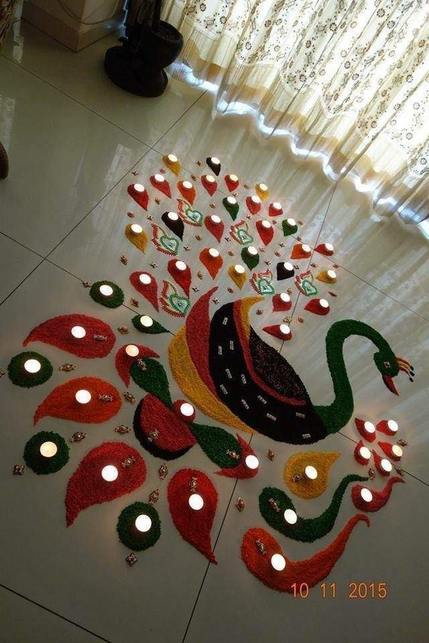 Can Anyone Post Some Quick And Easy Rangoli Designs Quora