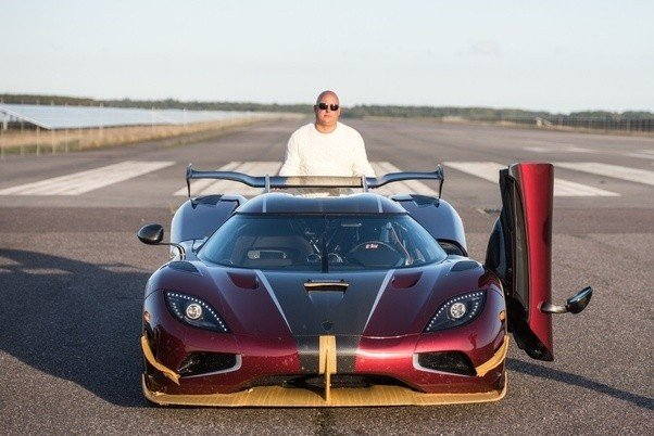 The Car And The Man, Christian Von Koenigsegg With The Agera RS
