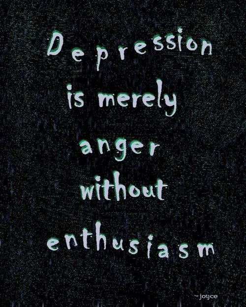 Why do people associate depression with sadness but never ...