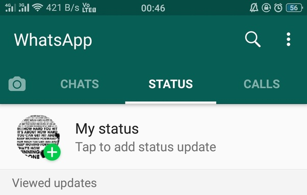 Can I Select Just One Person To See My Whatsapp Status Quora