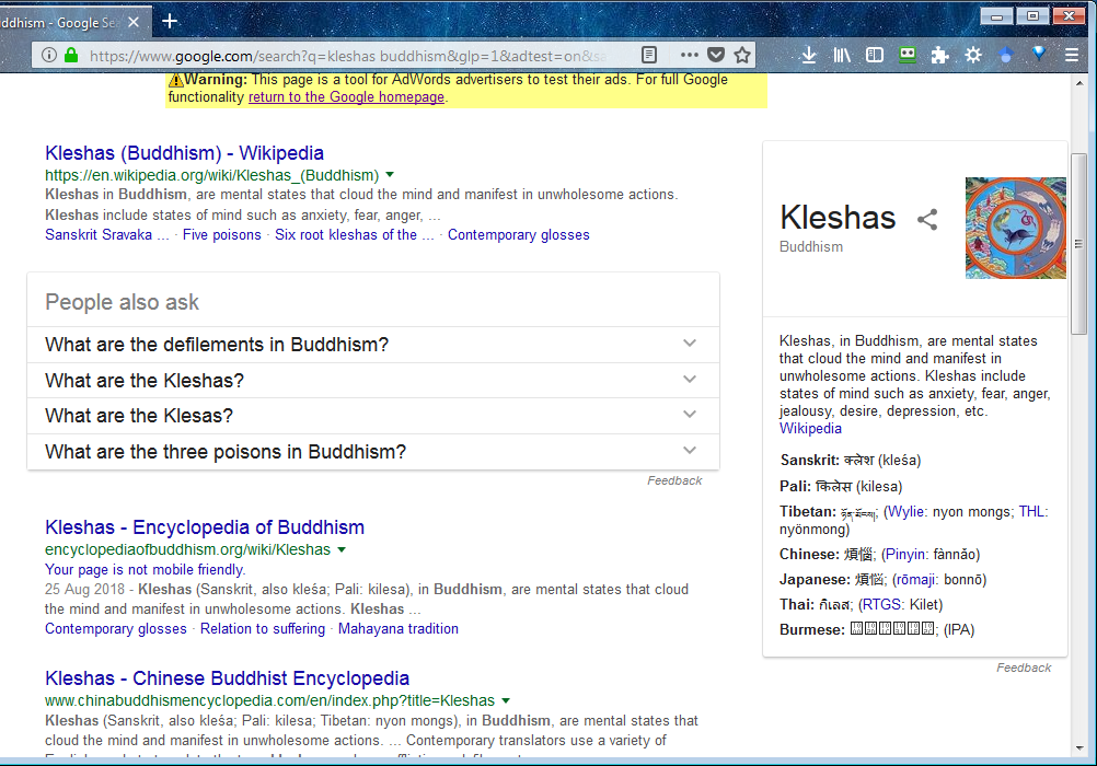 Growth in web traffic to our Encyclopedia of Buddhism - Quora