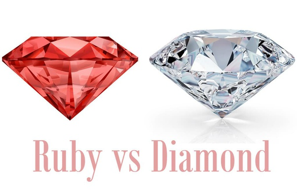 What Is Difference Between Ruby And Diamond Quora