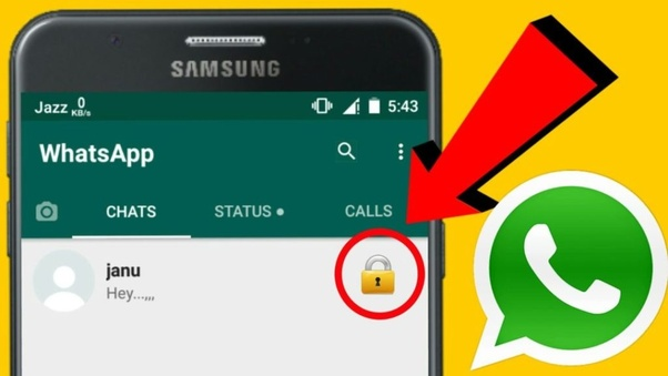 Is there any app to lock WhatsApp's particular chat and groups? - Quora