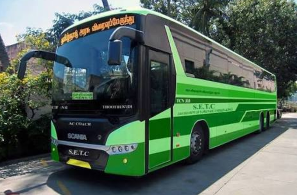What is the history of Tamil Nadu State Transport Corporation Ltd., and what are its main areas ...