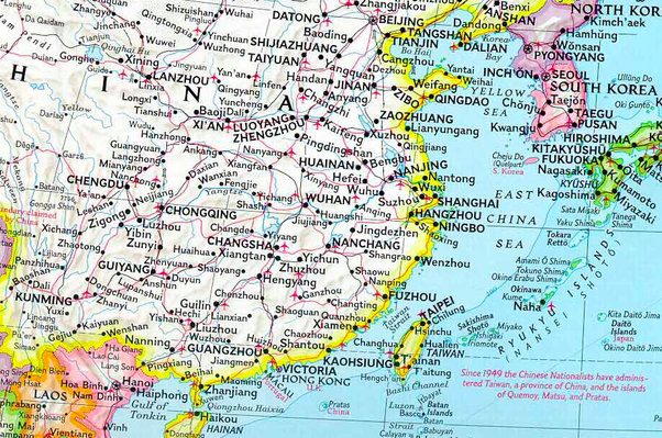 National Geographic Map Of China.Why Does The Us White House Use A Map Showing Taiwan And China As