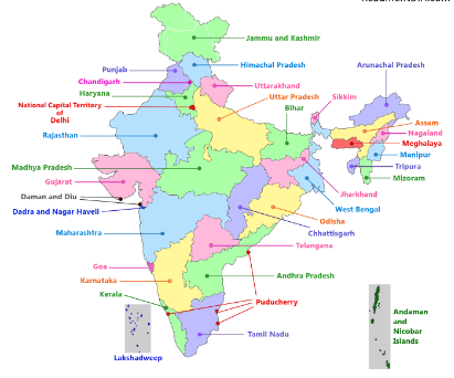 What are the 29 states in India? - Quora
