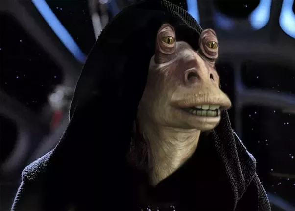 who would win the terror of the galaxy darth jar jar or our lord