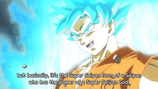 Which is stronger, Super Saiyan Blue or Super Saiyan God(Red