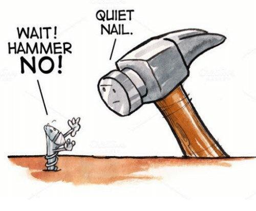 Using Lean Six Sigma tools like a hammer on a screw.