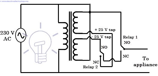 Sola Transformer Wiring Diagram : How does a voltage stabilizer work quora