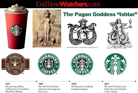 What is the meaning and story behind the Starbucks logo? - Quora