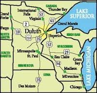 Where Is Duluth Minnesota Located Quora - Where is minnesota