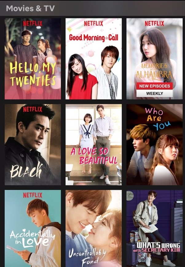 Does the Amazon Prime video have Korean dramas and Korean movies