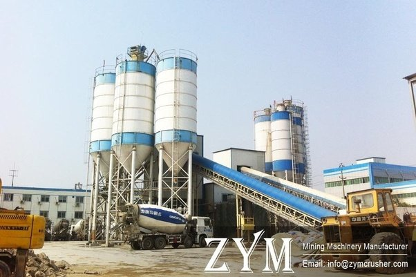 Cement Plant Machinery : How does the concrete batching plant work quora