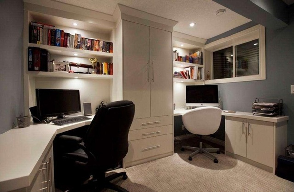 how to decorate my home office creatively and in a budget quora