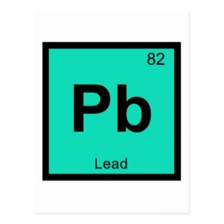 lead is a chemical element - Periodic Table Symbol Pb
