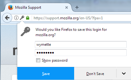 How to set Mozilla Firefox to save all my passwords - Quora