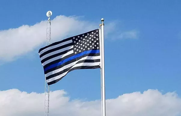 What Is The Meaning Of A Black And White American Flag Quora