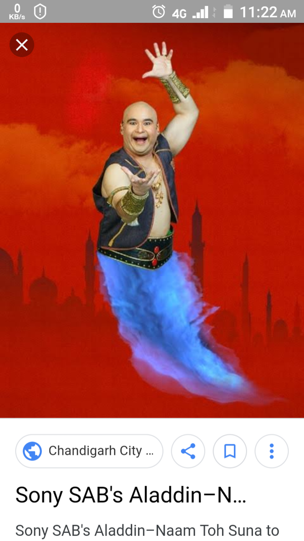 What is your review of the show 'Aladdin- Naam Toh Suna Hoga