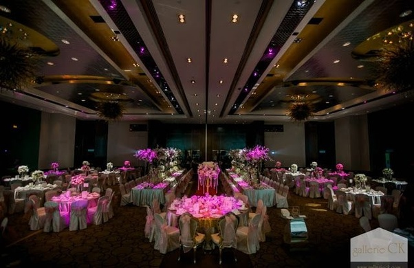 Venues: How many banquet halls for weddings are there in