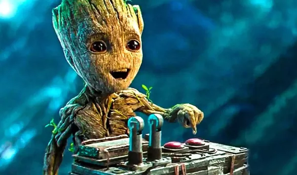 Groot Or Baby Groot From Guardians Of The Galaxy