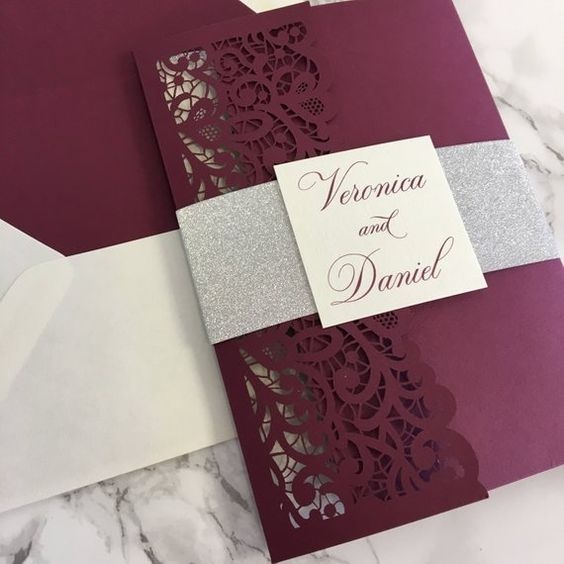 What Are Some Good Examples Of Wedding Card Designs Quora
