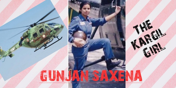 Who Is Pilot Gunjan Saxena Quora