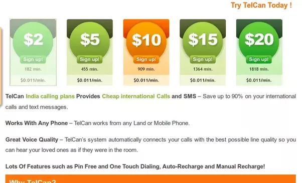 i will personaly suggest to telcan calling card because i am using and it has lot of unique feature telcan has various india calling plans from usa - India Calling Card From Usa