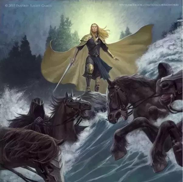 The Silmarillion: Glorfindel vs the Balrog - YouTube